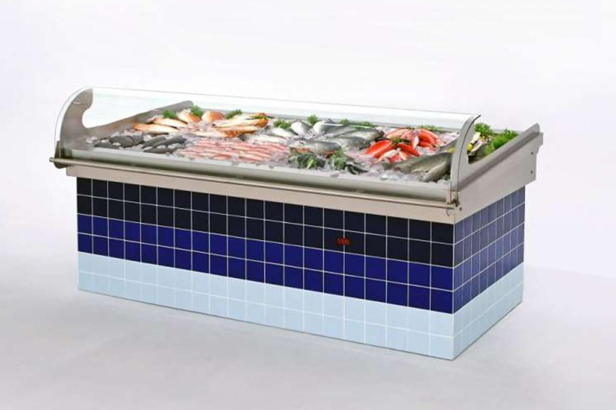 banco refrigerato pescheria